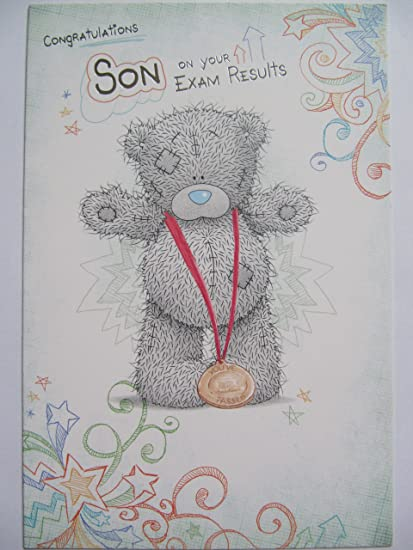 Amazon congratulations on your exam results greeting cards me congratulations on your exam results greeting cards me to you tatty ted congratulations son on your m4hsunfo
