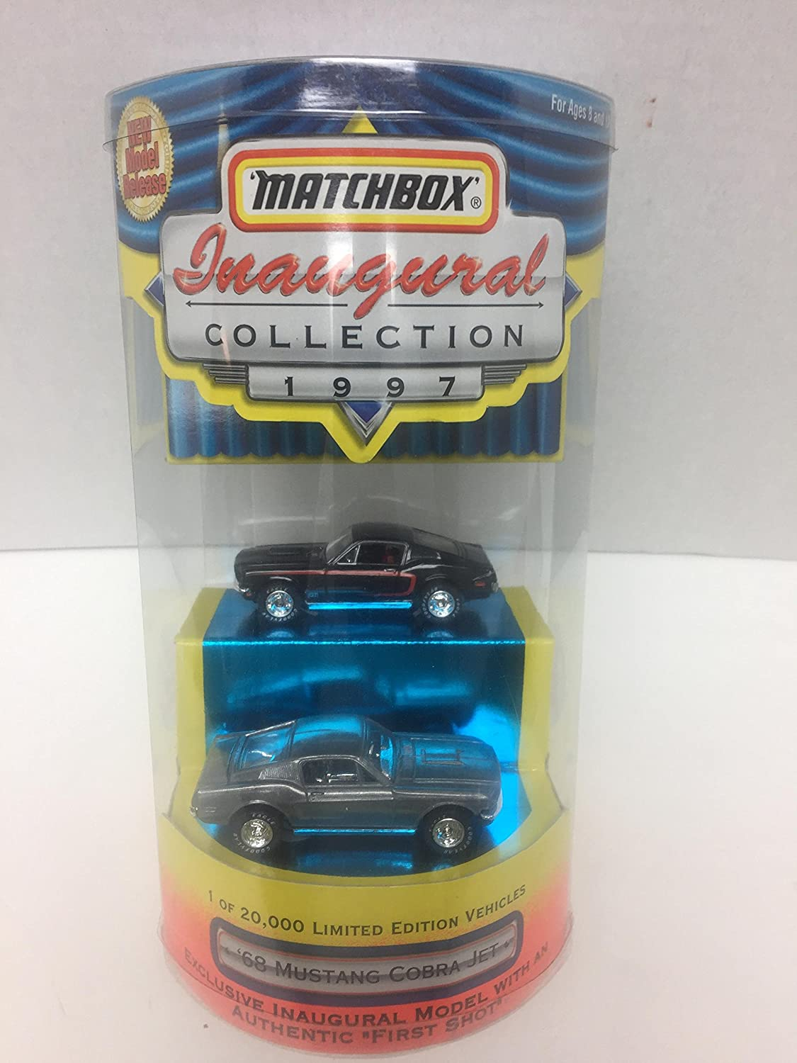 Qiyun Matchbox Inaugural Collection 1997 68 Mustang Cobra Jet 1st Issue New Model