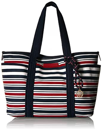 White tote bag Tommy Hilfiger ANDE36T