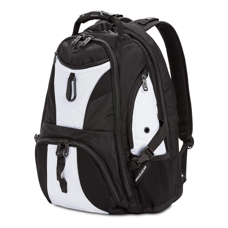 Amazon.com: SWISSGEAR Large ScanSmart 17-inch Laptop Backpack   TSA-Friendly Carry-on   Travel, Work, School   Mens and Womens - Black/White: Electronics