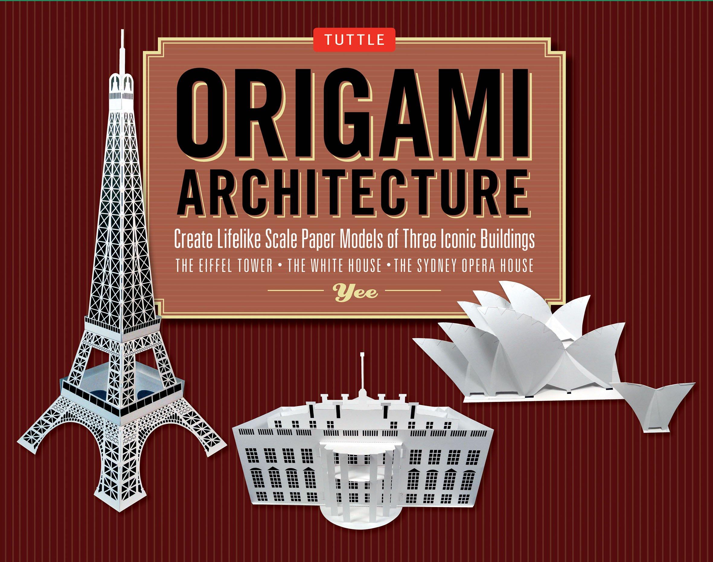 Eiffel tower Robin Glynn | Gilad's Origami Page | 1861x2362