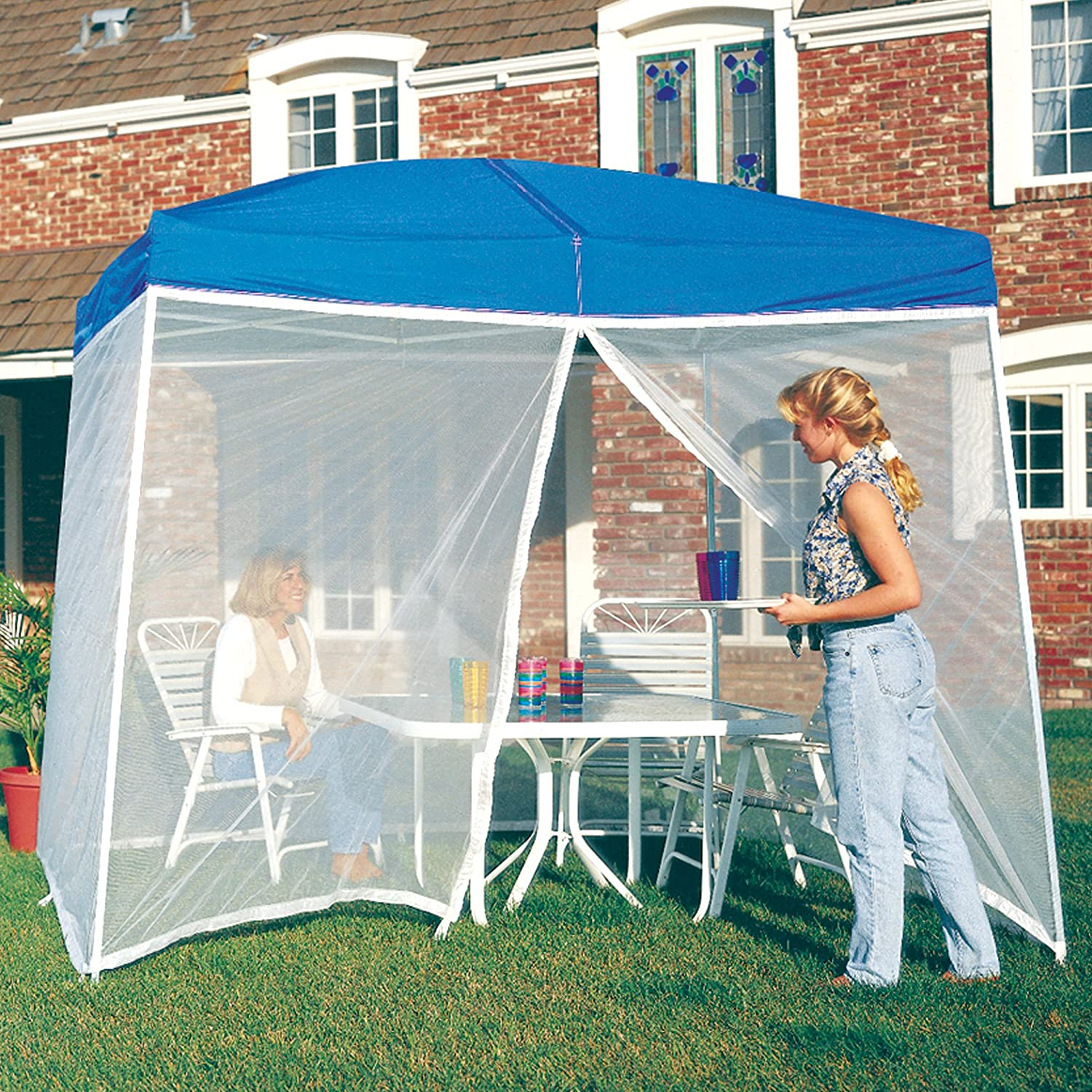 Amazon.com  E-Z Up Screen Room for a 10u0027x10u0027 Dome or Sierra Instant Shelter  Outdoor Canopies  Garden u0026 Outdoor & Amazon.com : E-Z Up Screen Room for a 10u0027x10u0027 Dome or Sierra ...
