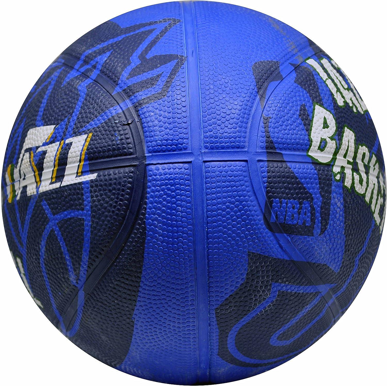 Spalding NBA Utah Jazz equipo colores y logo Mini – Balón de ...