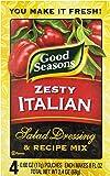 Kraft Good Seasons Salad Dressing and Recipe Mix, Zesty Italian, 2.4 Ounce