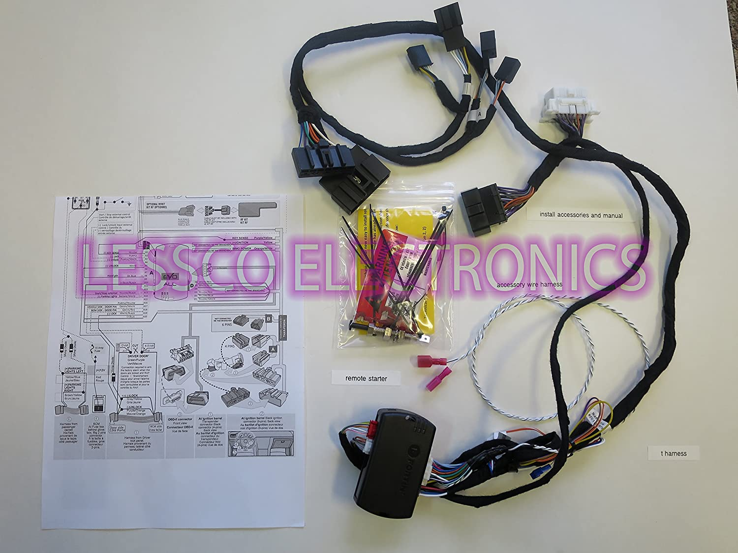 Amazon.com: Plug & Play Remote Start with T Harness for 2007 ... on