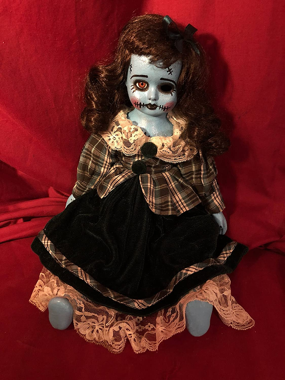 OOAK Sittingロカビリーフランケンシュタインホラー人形不気味アートby Christie creepydolls   B07BHB19PC