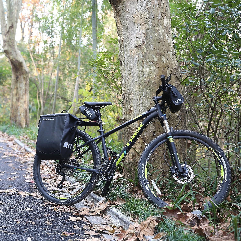 dccn bicicleta bolsa para manillar wassdi chte funda de sill/ín para Mountain Bike