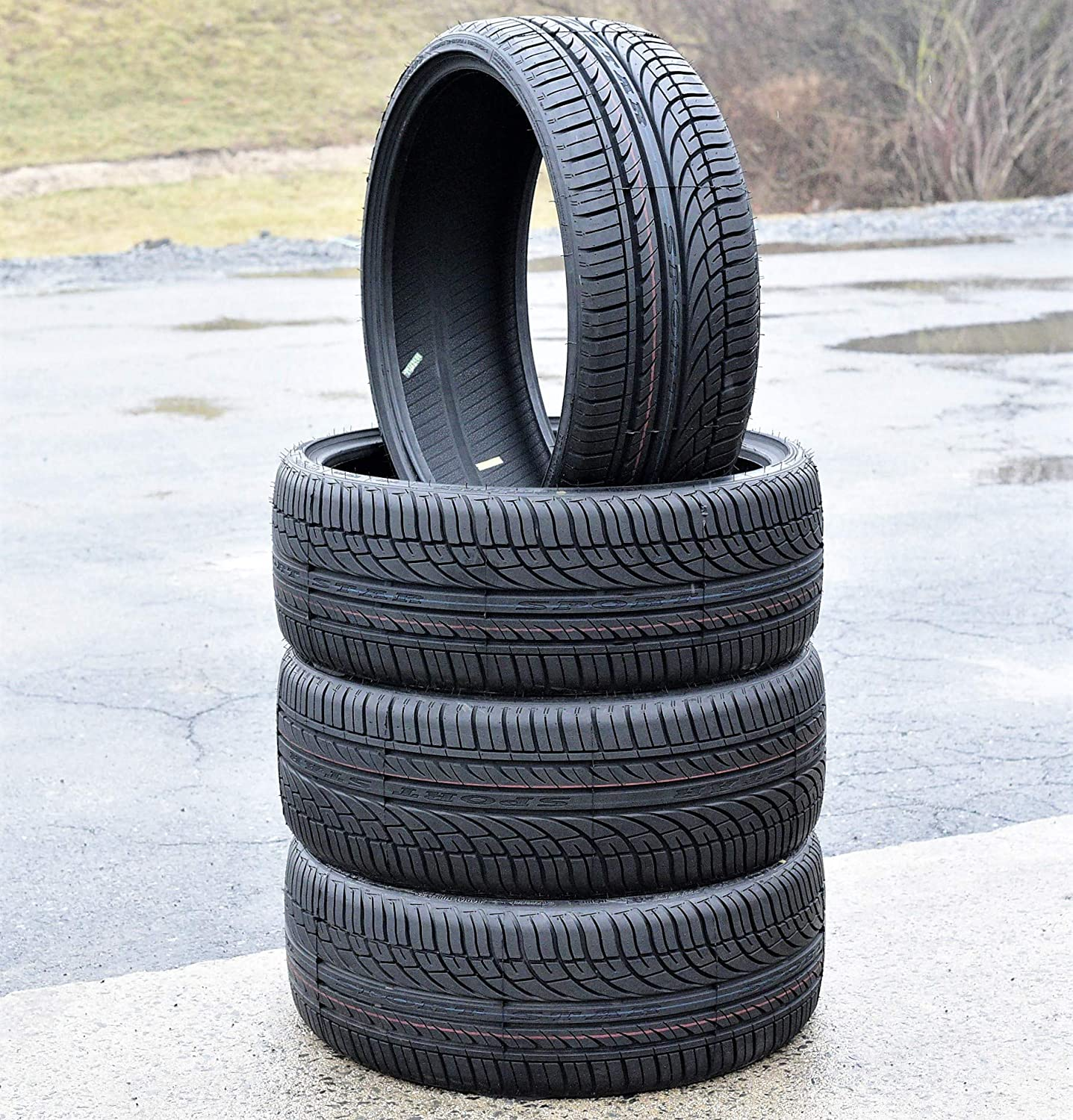 FOUR Set of 4 Fullway HP108 High Performance Radial Tires-225//30ZR22 86W XL