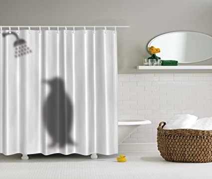 Amazon Ambesonne Animals Decor Funny Shower Curtain By Penguin