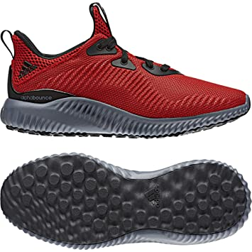 Adidas Alphabounce j - Zapatillas deportivaspara niños, Rojo - (Escarl/Azul/Negbas), -6: Amazon.es: Deportes y aire libre