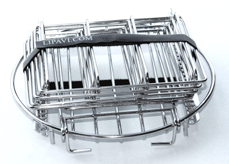 Amazon.com: LIPAVI Sous Vide Rack - Model R20, Stainless Steel ...