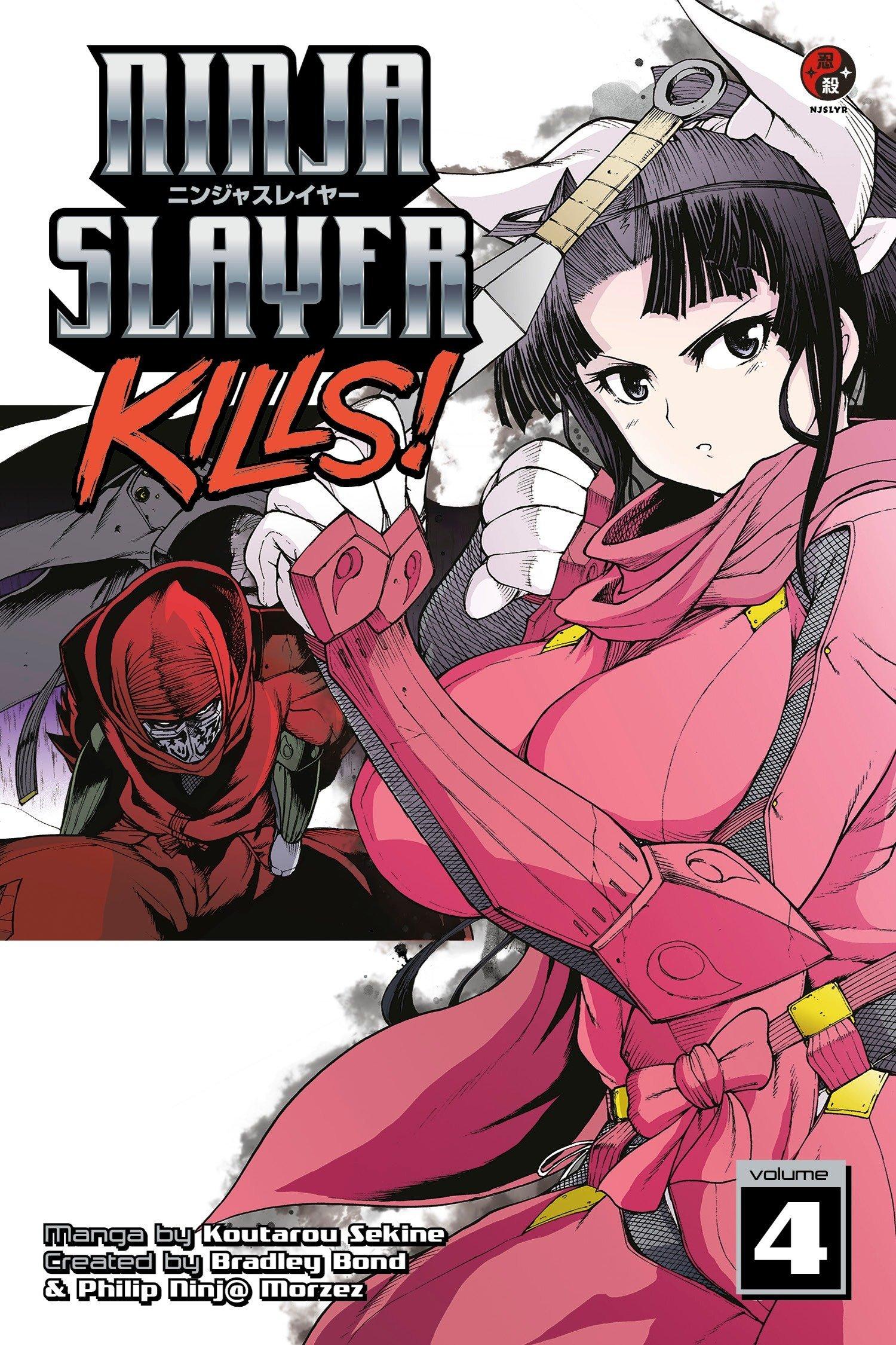 Ninja Slayer Kills 4: Amazon.es: Phillip N. Morzez, Kotaro ...