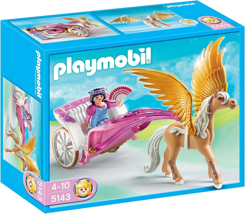 PLAYMOBIL Future Planet - Princesas Pegaso con Carruaje, Princesas Pegaso con Carruaje, Multicolor, 25 x 10 x 20 cm, (626700)