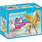 Playmobil - 5143 - Jeu de construction - Carosse avec cheval ailé