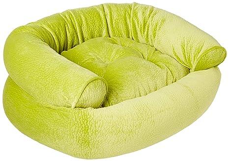 Amazon.com: bowsers doble Donut cama para perro en Key Lime ...