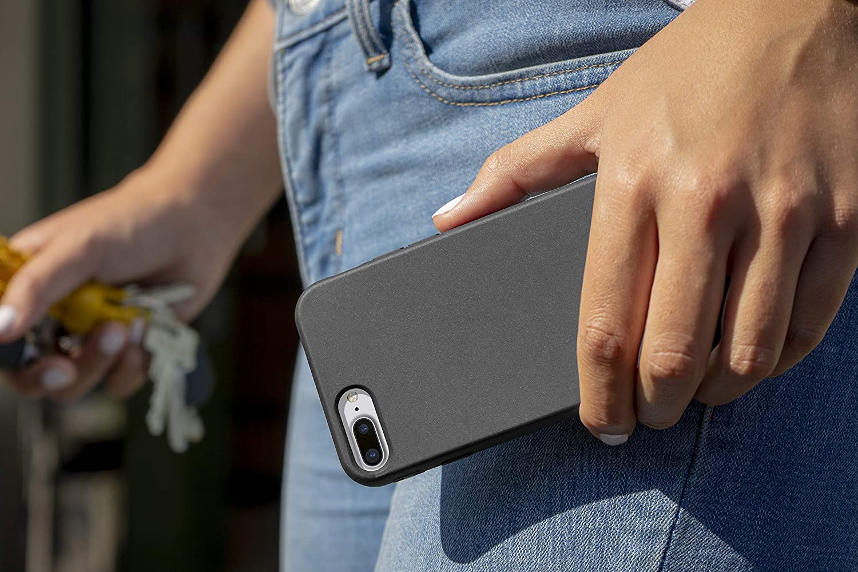 MyGadget Funda Slim para Apple iPhone 7 Plus / 8 Plus en Silicona ...