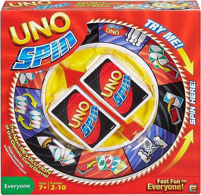 UNO Spin by Mattel: Amazon.es: Juguetes y juegos