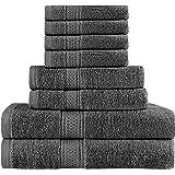 Utopia Towels - Juego de toallas Premium de 8 piezas; 2 toallas de baño,