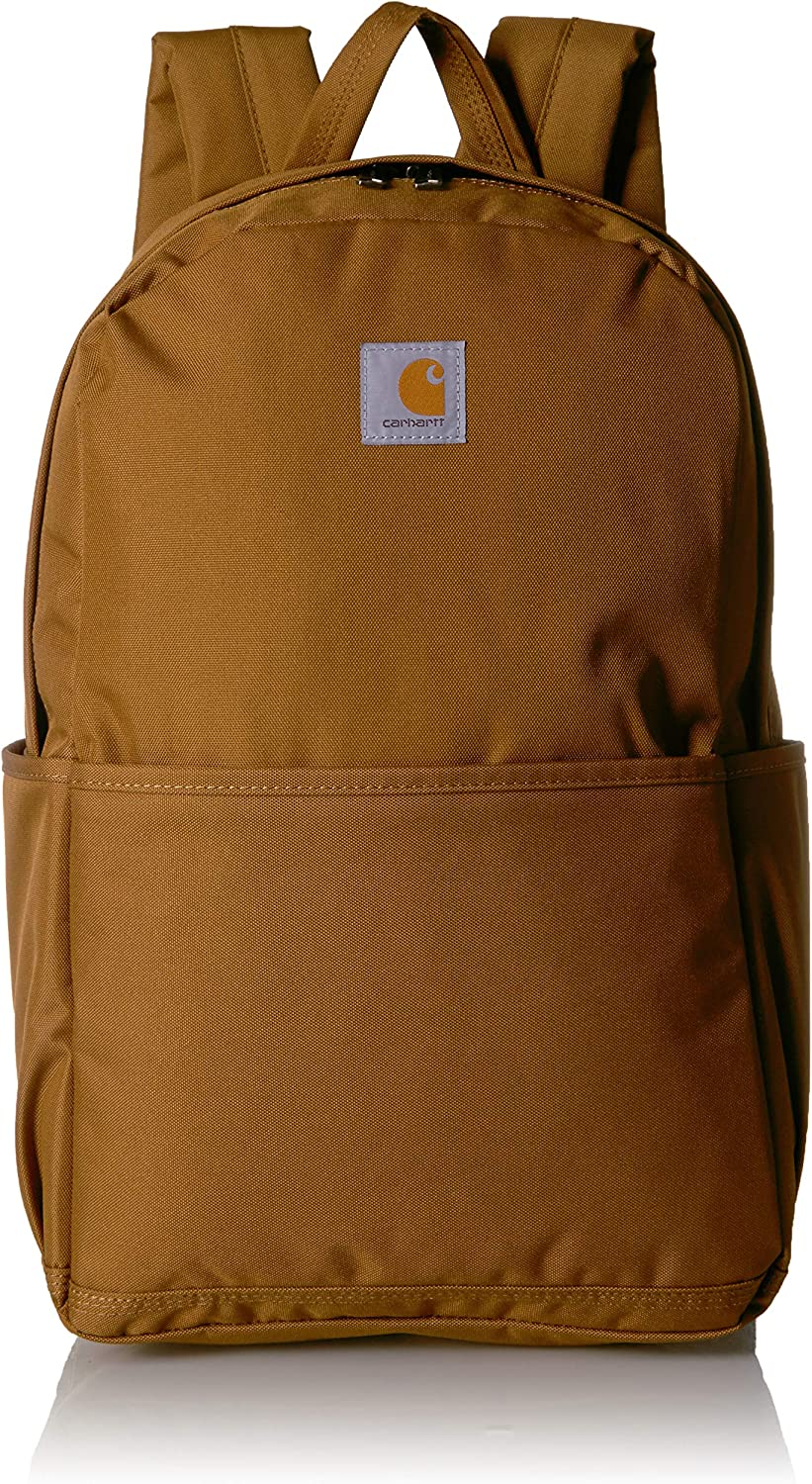 Carhartt Trade Plus Backpack with 15-Inch Laptop Compartment, Carhartt Brown