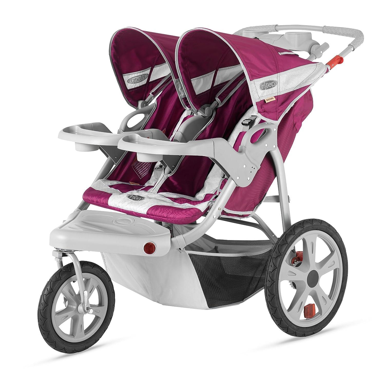 InStep Safari Double Swivel Stroller