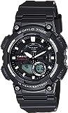 Casio Youth-Combination Analog-Digital Black Dial Men's Watch - AEQ-110W-1AVDF (AD207)