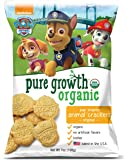 Pure Growth Organic Paw Patrol Animal Crackers, Original, 7 Ounce (Pack of 6)