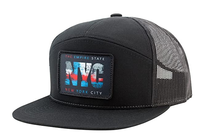 cf8b12136f242 Amazon.com: Camoris NYC York City Hat (Black): Sports & Outdoors