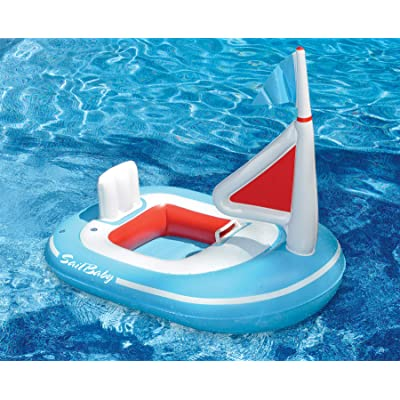 Swimline Baby Sail Pool Float: Toys & Games
