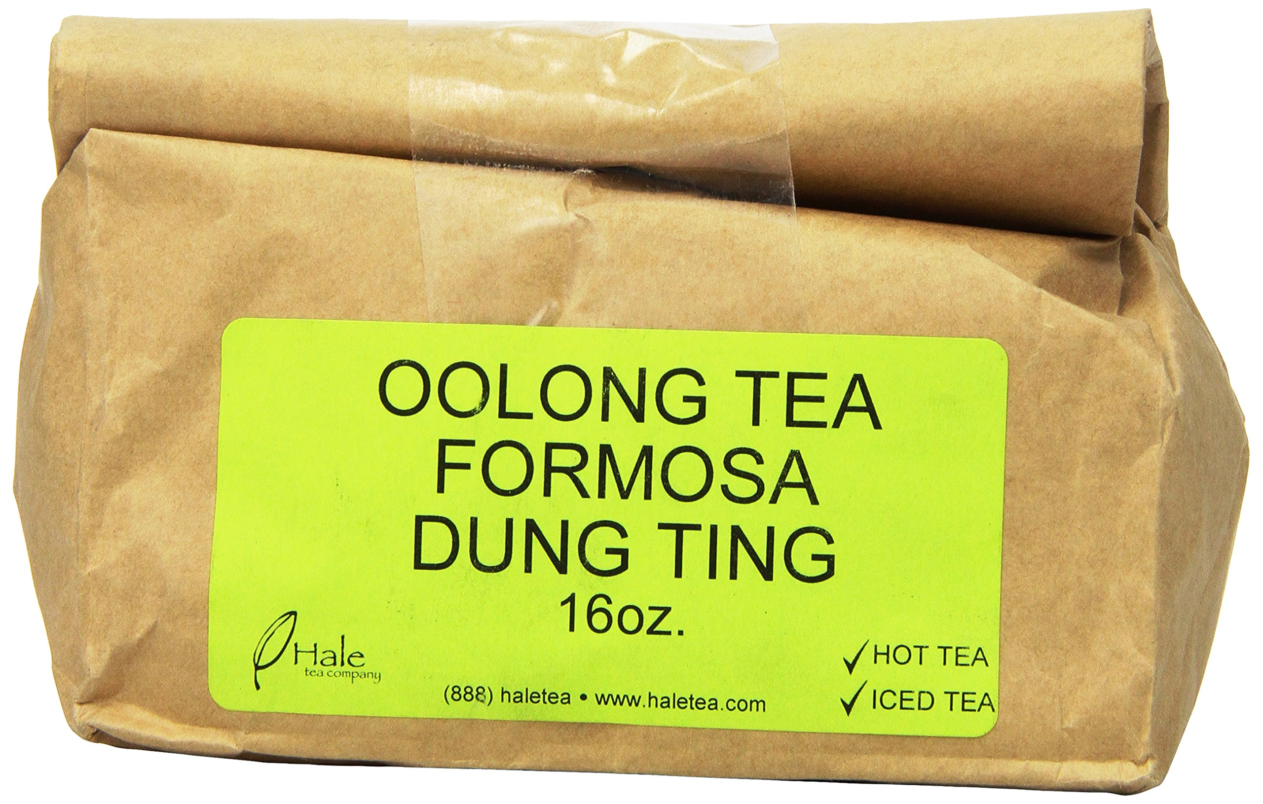 Hale Tea Oolong Tea, Formosa Dung Ting, 16-Ounce