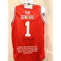 Bob Knight Indiana Hoosiers Signed Autograph Custom Jersey Embroidered Rare QUOTE Limited Edition Steiner Sports Certified photo