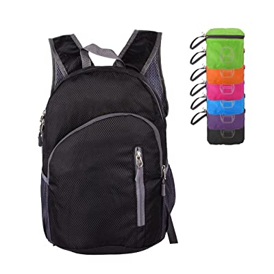 Tourdarson 20L Ultralight Foldable Small Backpack Packable Lightweight Daypack for Hiking Camping Outdoor Travel School Cycling