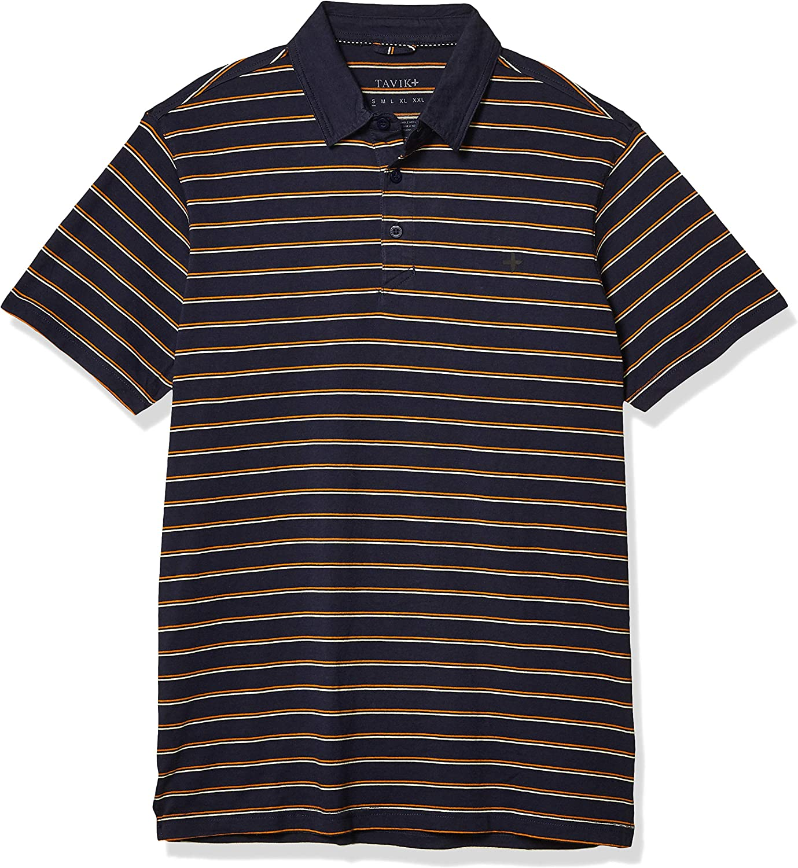 Tavik Mens Swift Polo Short Sleeve Knit