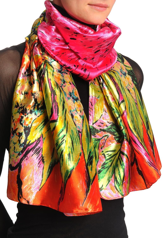 Schal Einheitsgroesse Red Mehrfarbig Scarf 50cm x 160cm Pink /& Green Van Gogh Flowers