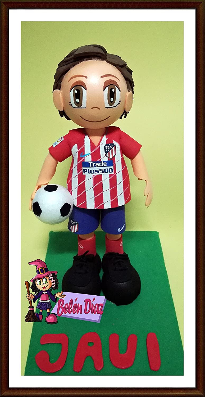 Muñeco fofuchas Atlético de Madrid Torres C.F. 26 cms. fútbol liga