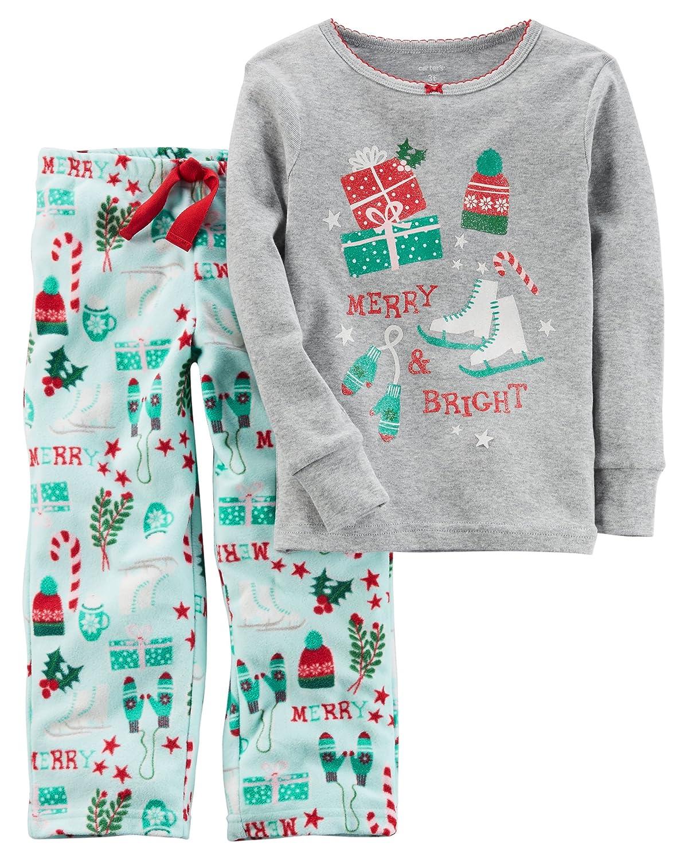 Carter's Girls 2 Piece Fleece Pajamas Carters