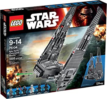 Lego Star Wars Kylo Ren's Command Shuttle Building Kit
