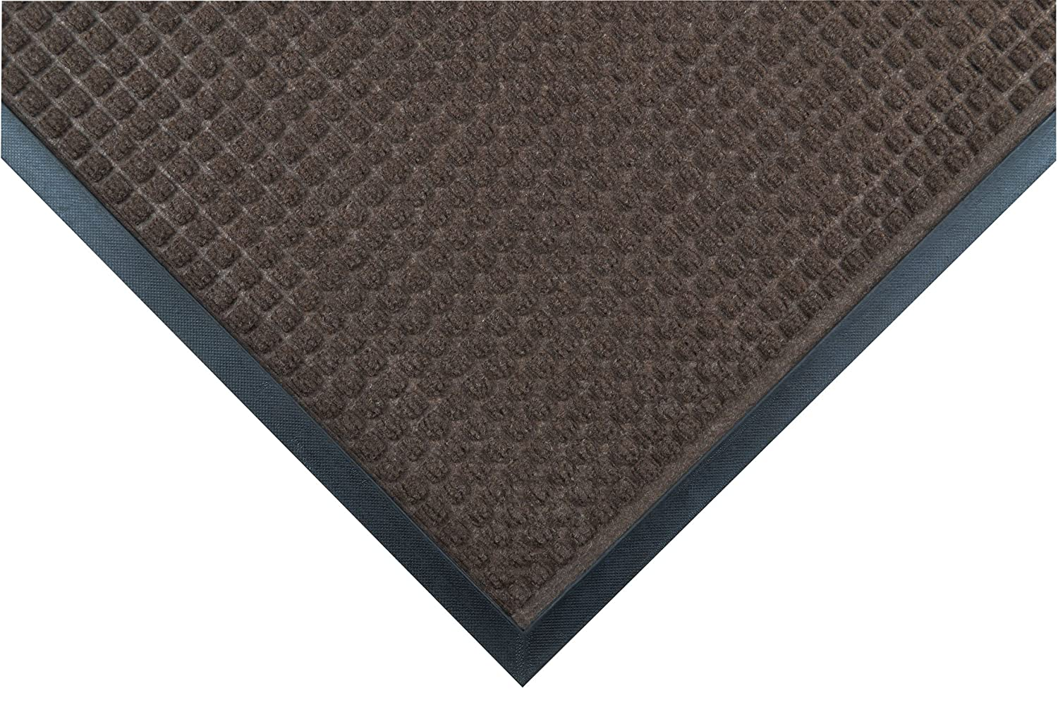 Notrax Mats for Professional Use 166S0034BR Guzzler robust barrier mat with moulded cubes, BROWN