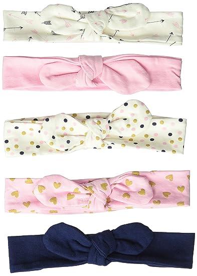 Amazon.com  Hudson Baby Baby Girls  Cotton Headbands 53bbabfcce0