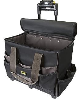 335b0dc5d5 Custom Leathercraft L258 TechGear Roller Tool Bag with Lighted Handle