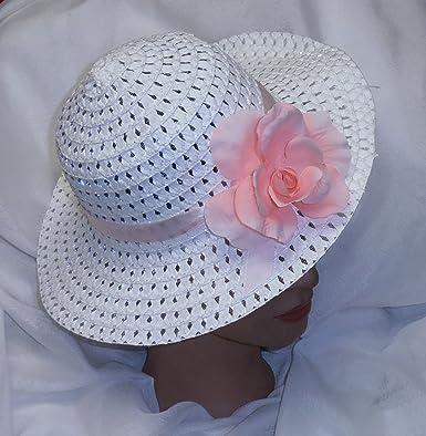 8.5 x 2.9 Kids Easter Pink Bonnet Hat Size: For Girls/&Boys cm