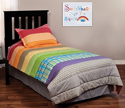 Completely new Amazon.com: Trend Lab Rainbow Connection Bedding Set, Twin: Home  DT88