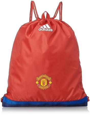 ae4bc66107 adidas 2015-2016 Man Utd Gym Bag (Crimson)  Amazon.co.uk  Sports ...