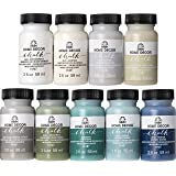 FolkArt Home Decor Ultra Matte Chalk Finish Acrylic Craft Paint Set Formulated for No-Prep Application Designed for…