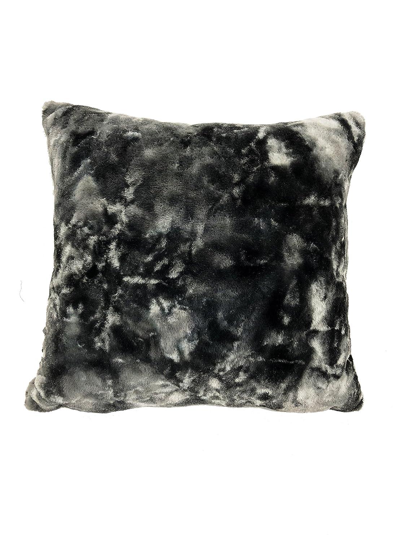 Urban Loft by Westex Rabbit Solid Grey Polyester Filled Decorative Throw Pillow Cushion 14 x 26