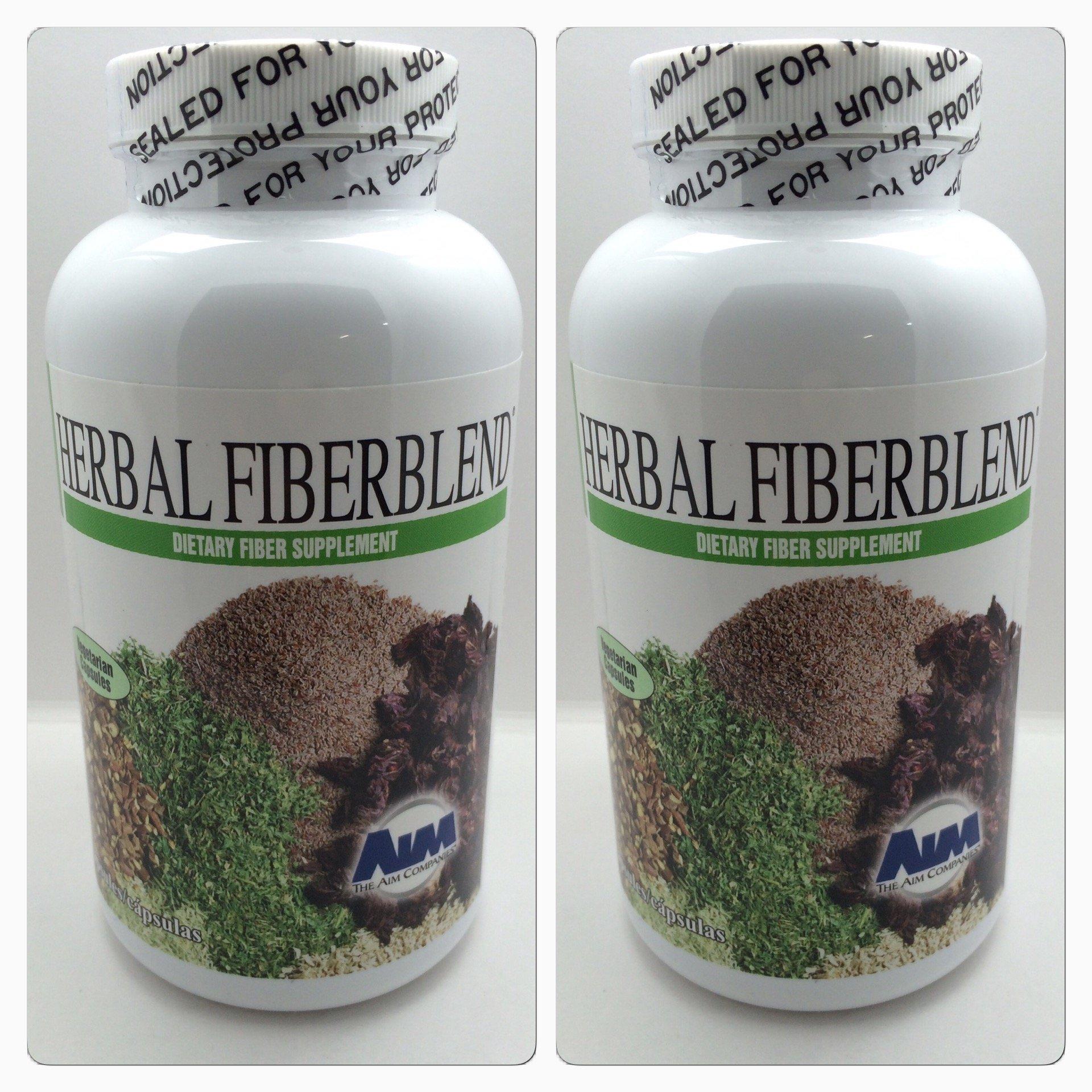 AIM Herbal Fiberblend Capsules (Two Pack) 560 Capsules Total