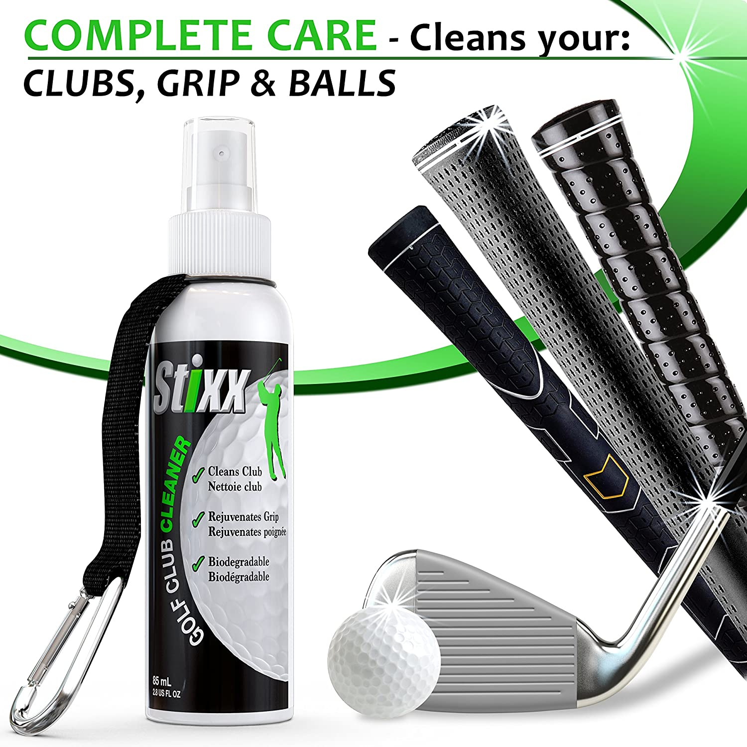 Amazon.com: Stixx 33469 # 1 Club de Golf Kit de limpieza ...