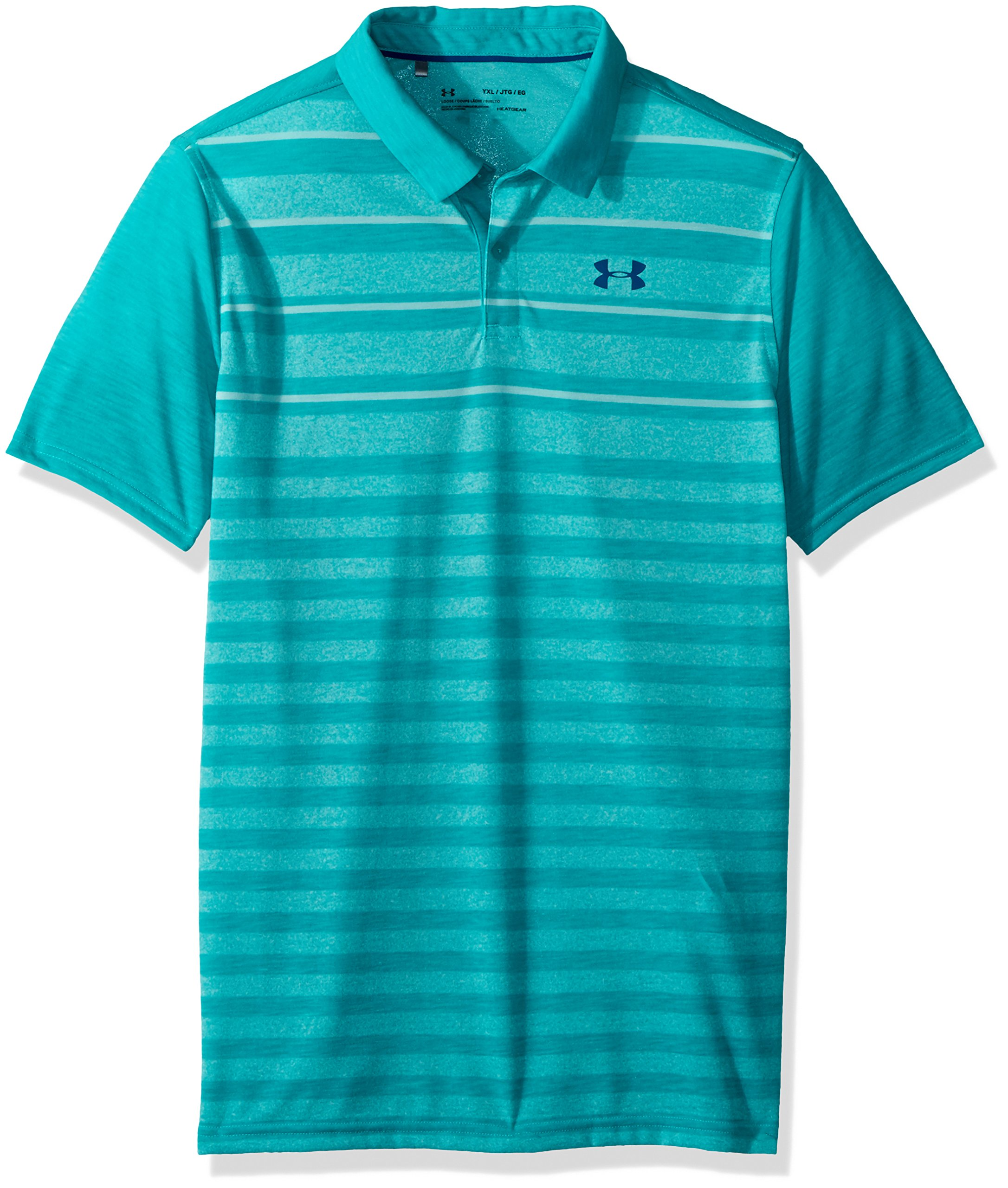 Under Armour Boys' Threadborne yd Engineered, Teal Punch (594)/Moroccan Blue, Youth X-Small by Under Armour