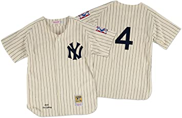 reputable site 31ec9 28185 Mitchell & Ness Lou Gehrig New York Yankees Authentic 1939 ...
