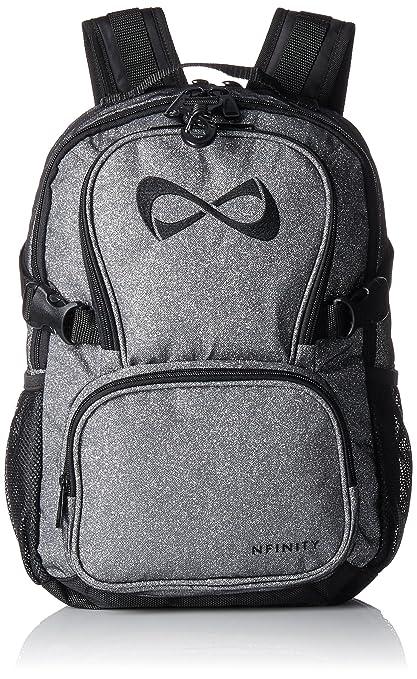 Nfinity Petite Sparkle Backpack Girls Glitter Bookbag | Perfect Bag for Travel, School, Gym