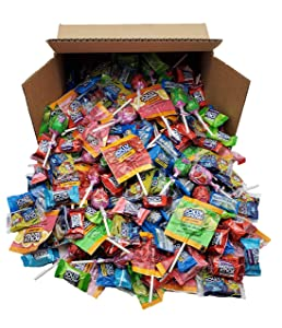 JOLLY RANCHER Candy Bulk Variety Mix, Jolly Rancher Lollipops, Jolly Rancher Crunch 'N Chew, Fun Candy Mix, (80 Oz - 5 Pound's)